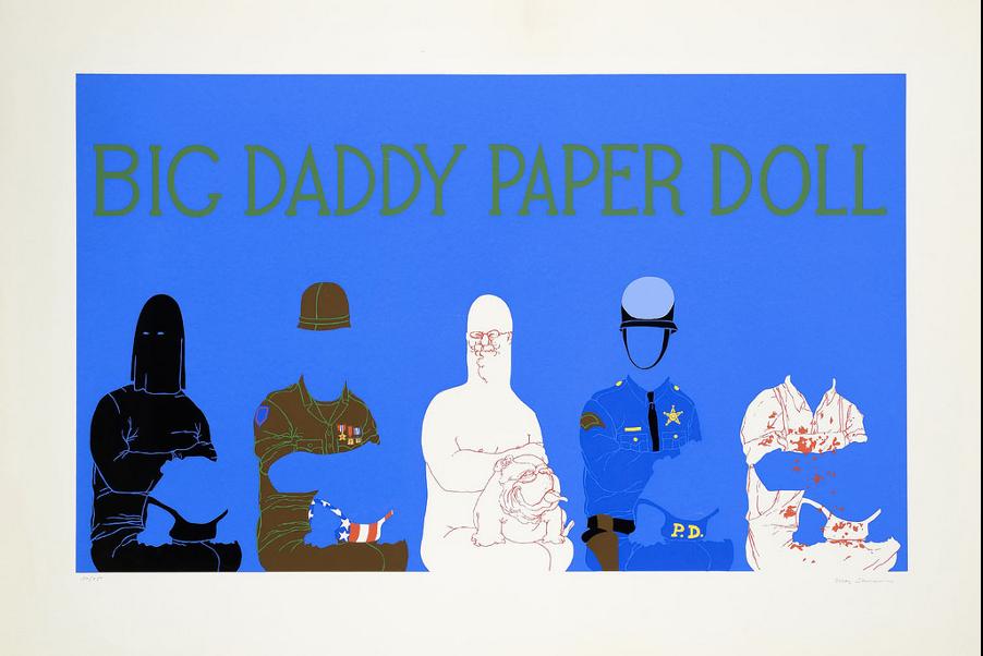 big daddy paper doll